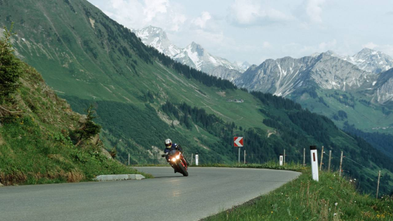 Motorcycling during your holiday